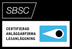 SBSC – Certificeret installatørfirma låseanlæg