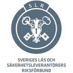 Logo Sveriges riksforbund for lås- og sikkerhetsleverandører