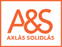 Axlås solidlås logo
