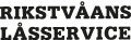 Risktvåans låsservice logo